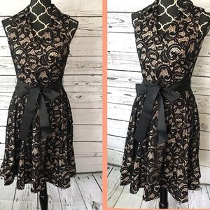 Black Lace Dress Signature by Robbie bee